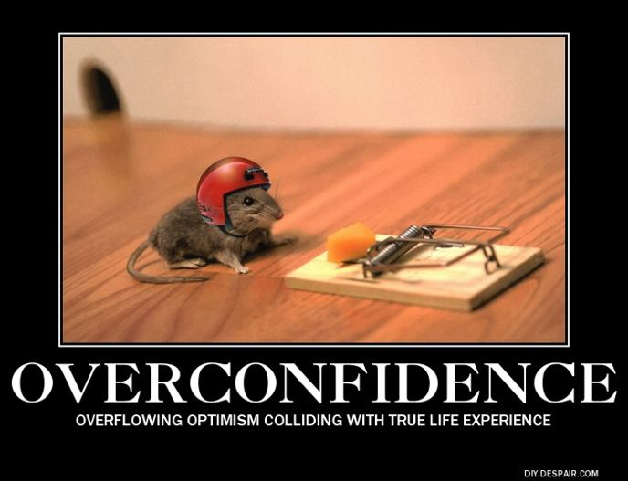 how to stop being overconfident