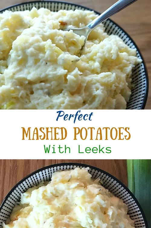 Perfect Mashed Potatoes with Leeks