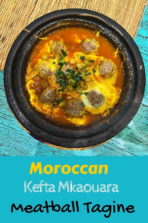 Kefta Kefta Kefta Mkaouara Kofte Mkawra Moroccan Meatball Tagine ...