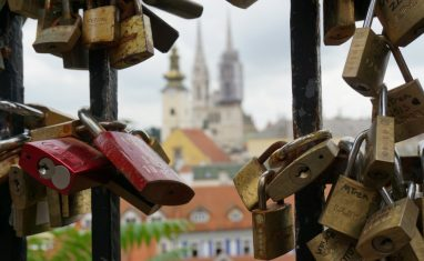 zagreb love locks