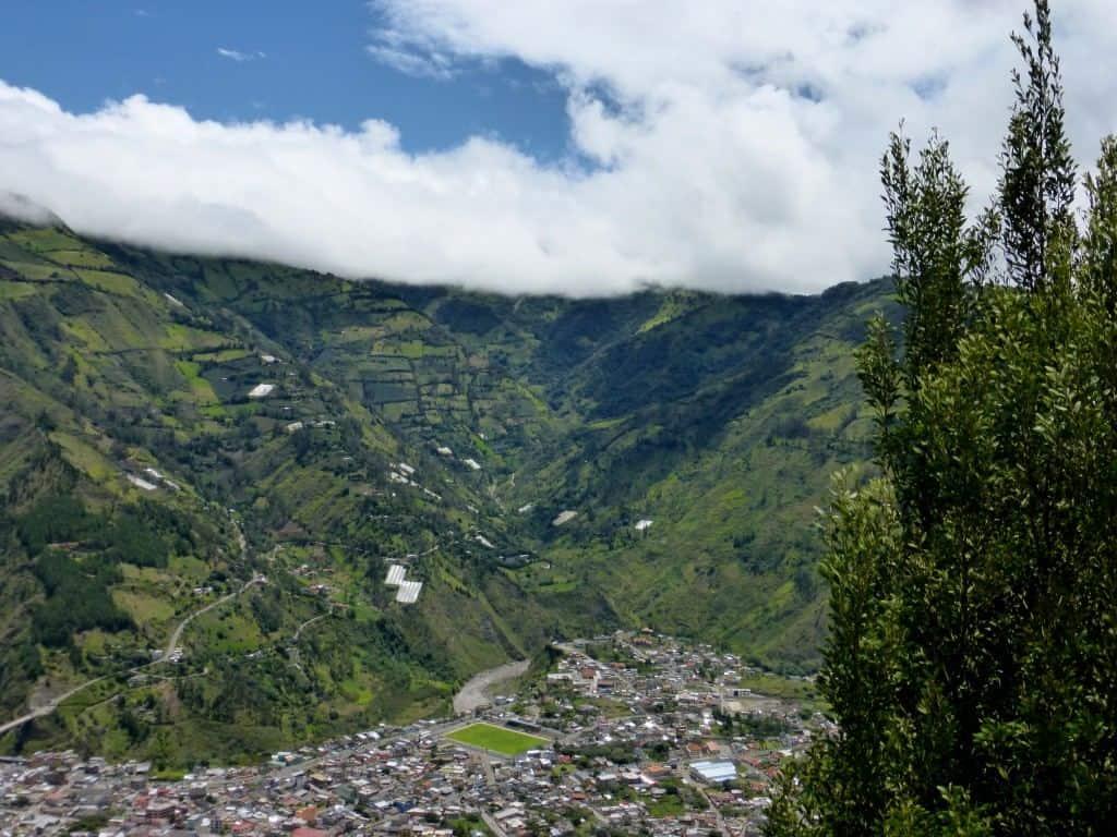 Banos de Agua Santa Ecuador