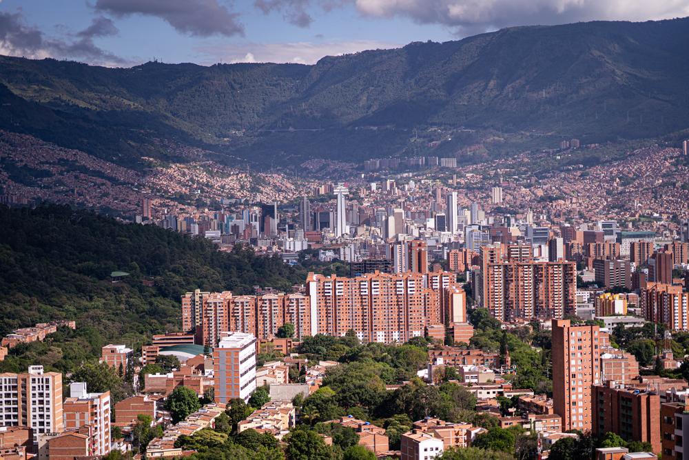 Medellin Colombia City Center
