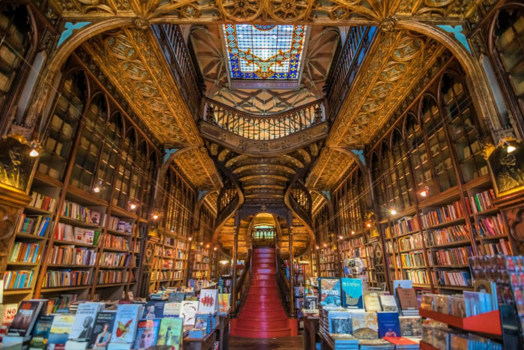 Things to Do in Porto: Bookstore