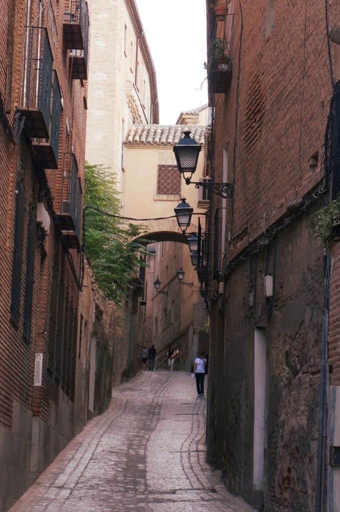 Toledo Spain Narrow Street
