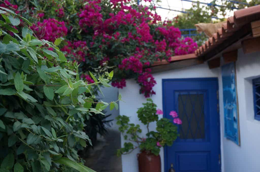 Anafiotika Neighborhood Greece