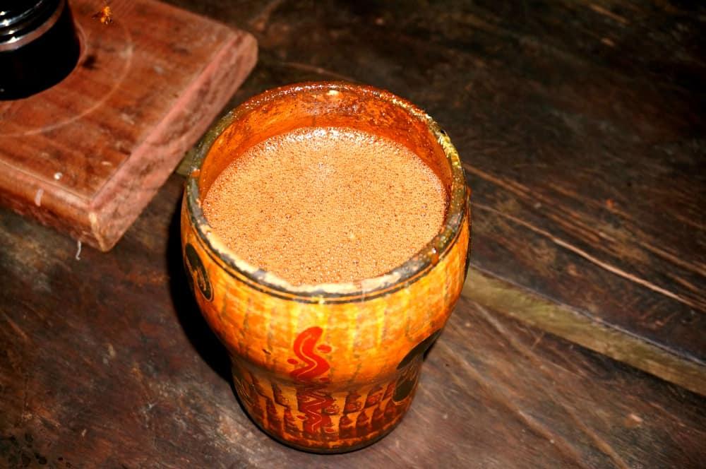 jungle hot chocolate
