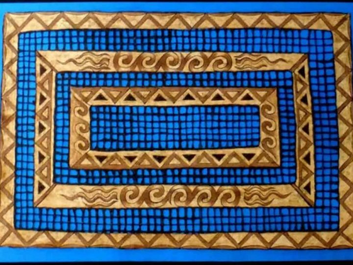 Amate Mexican Bark Painting