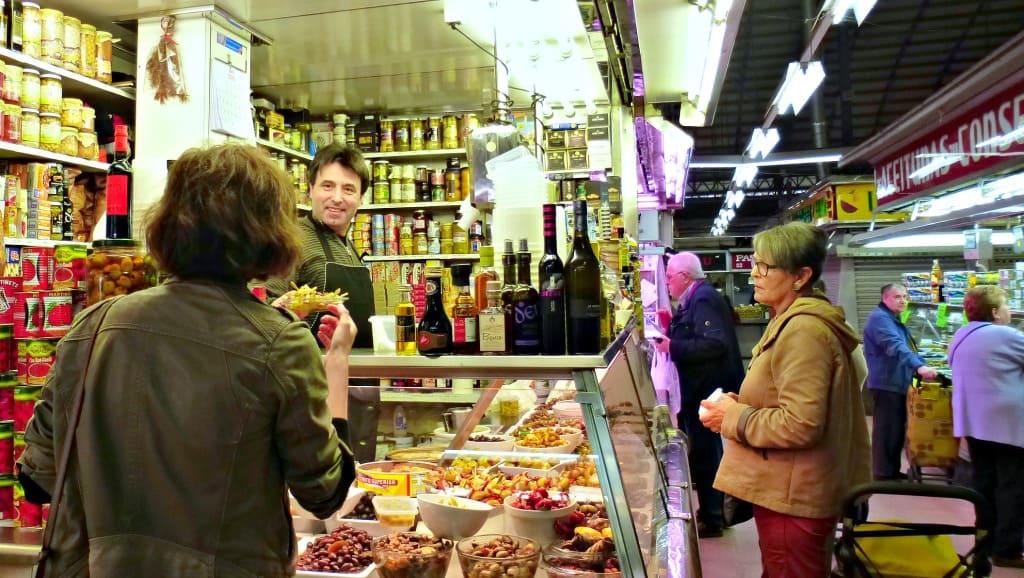 Barcelona Olive Vendor