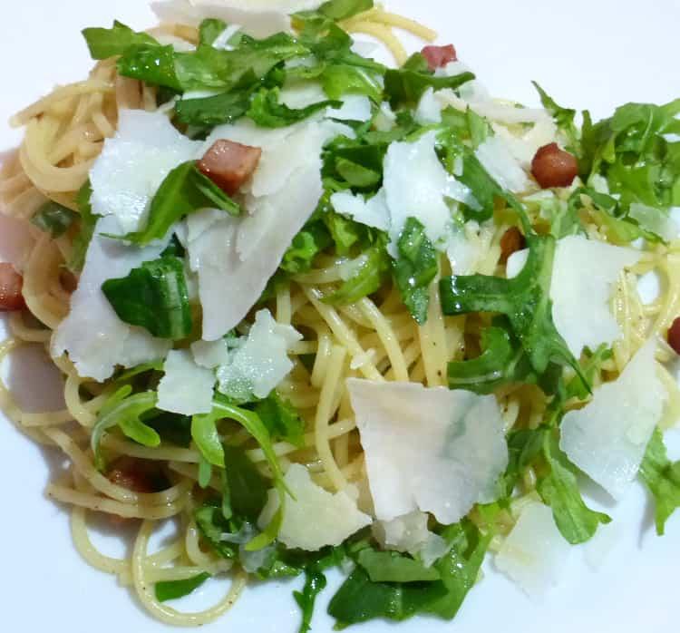 Spaghetti Pancetta