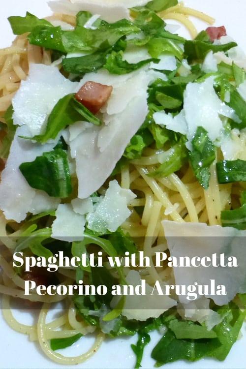 Spaghetti Pancetta Pin