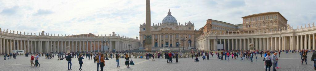 Vatican Panorama View