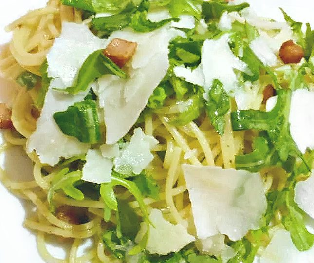 Pasta with Pancetta