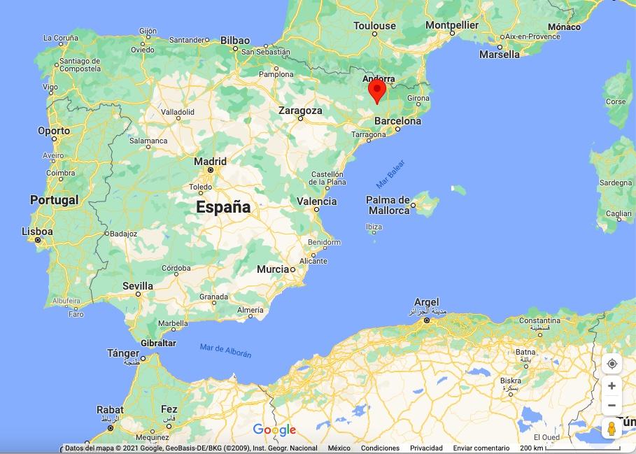 Where is Solsona, Spain