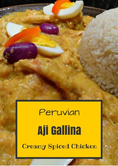 Aji Gallina Recipe
