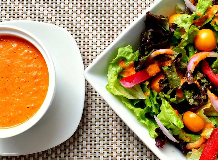 Salad Dressing With Citrus and Fresh Ginger