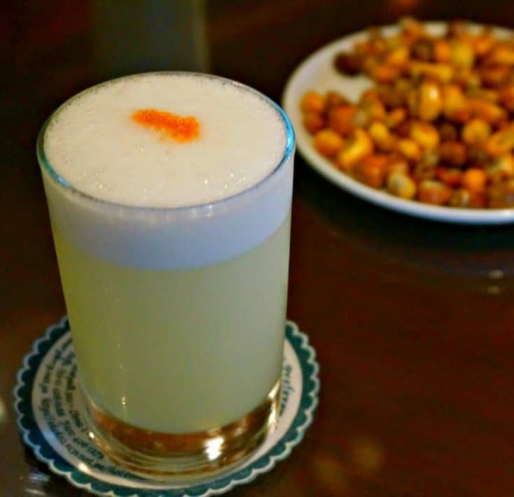 Things to Eat in Peru: Classic Pisco Sour