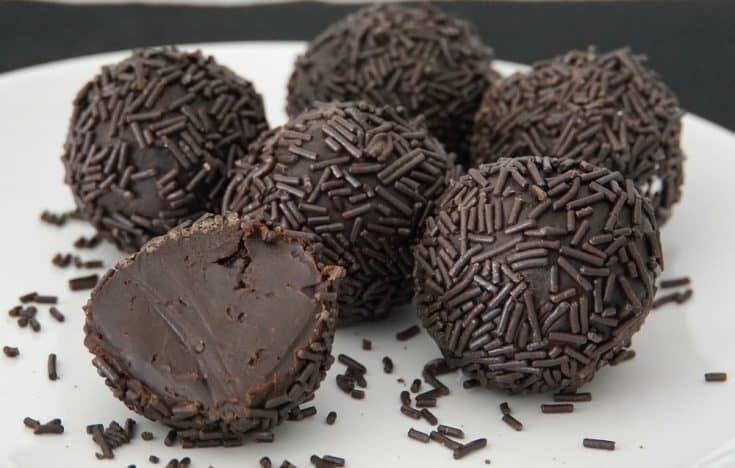 Brigadeiro Brazilian Chocolate Truffles