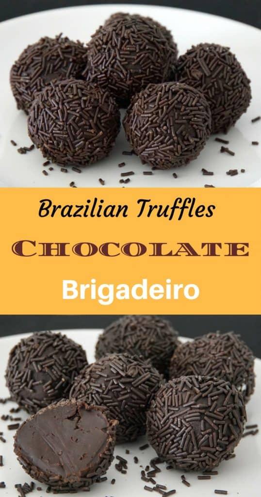Brazilian Truffles Brigadeiro