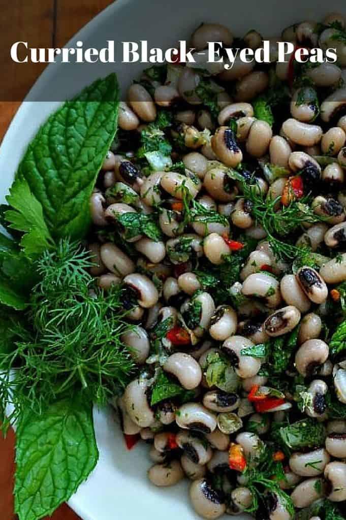 curried black-eyed peas