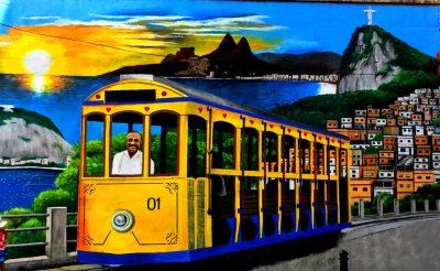 Tram Mural