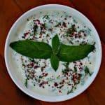 Yogurt Mint Jalapeno Dip