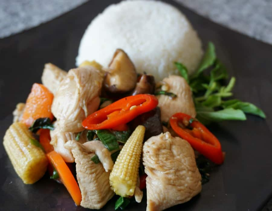 Thai Holy Basil Chicken