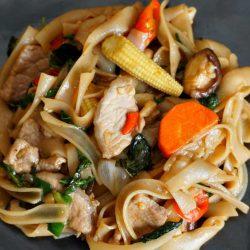 Thai Drunken Noodles – Pad Kee Mao