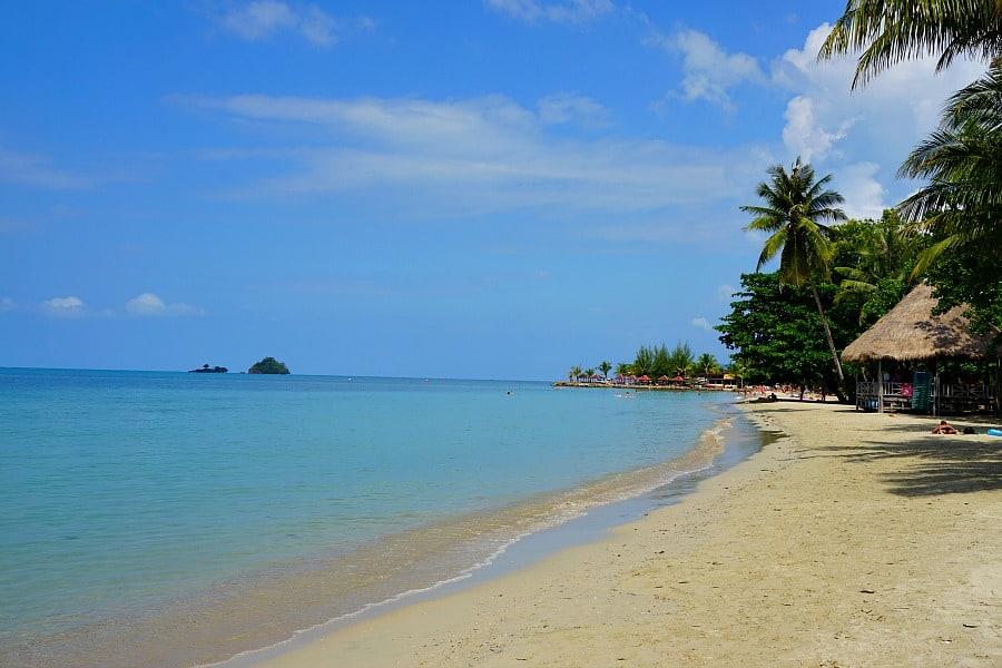 Beautiful Kai Bae Beach, Koh Chang, Thailand