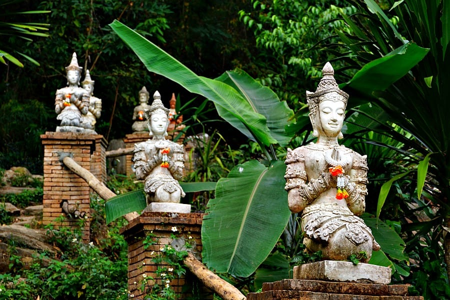 Doi Suthep Chiang Mai Thailand Hike