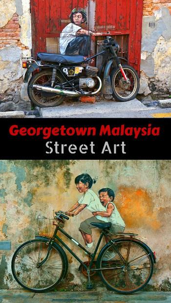 Georgetown Malaysia Street Art