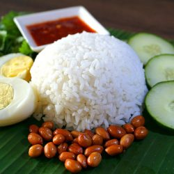 Coconut Rice – Nasi Lemak