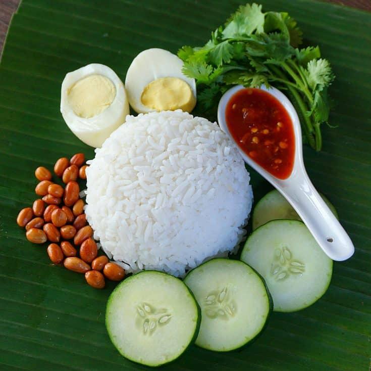 Nasi Lemak Recipe