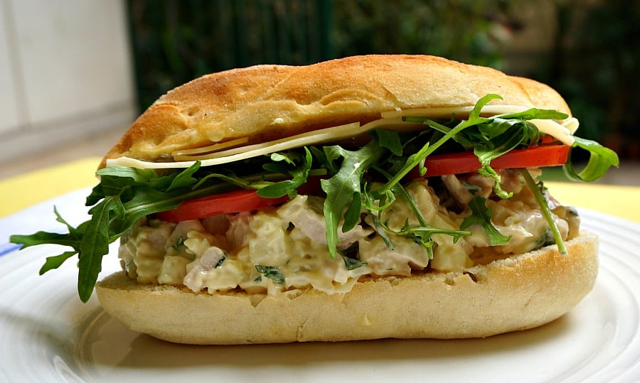 Chicken Salad with Fennel and Mint
