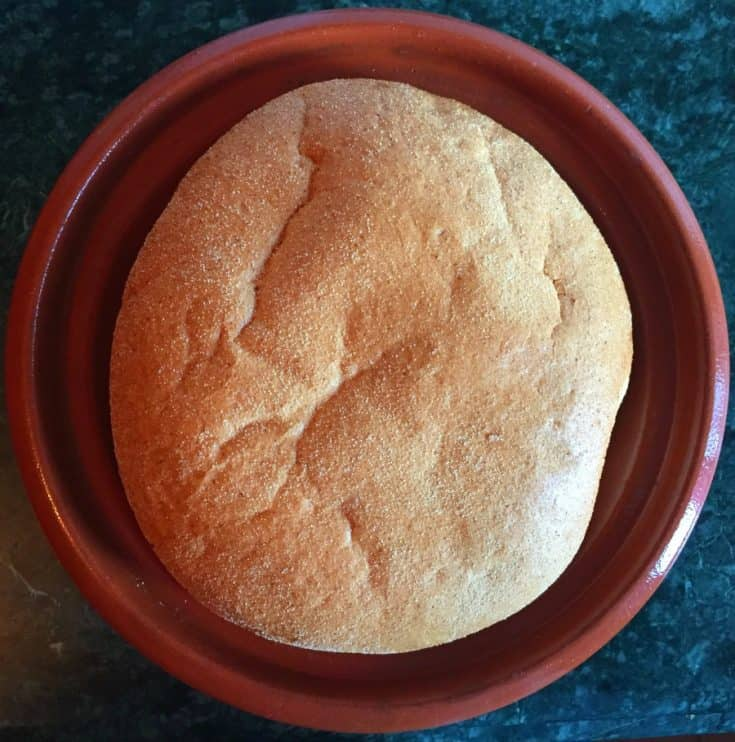 Traditional Moroccan Bread Khobz