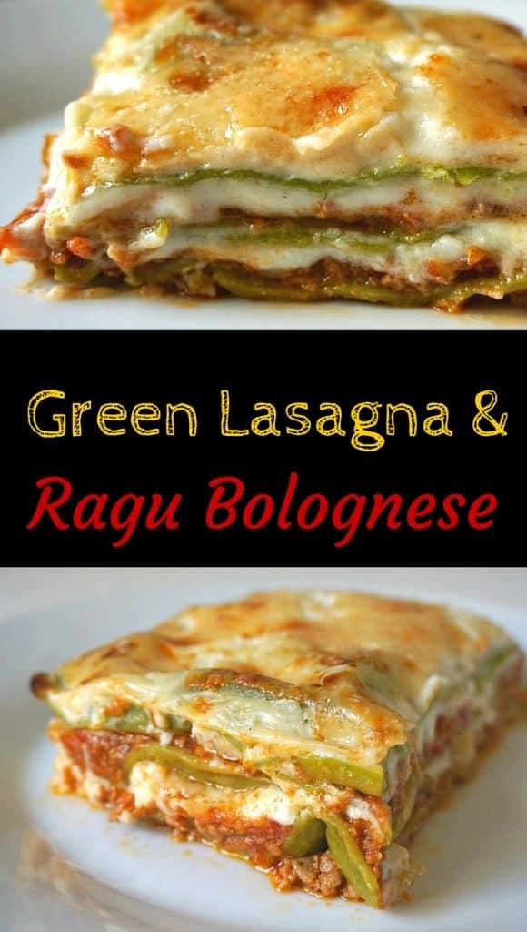 Green Lasagna Ragù alla Bolognese