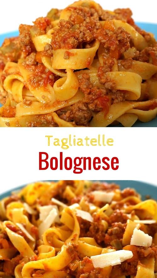 Tagliatelle with Ragú alla Bolognese Recipe