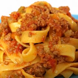 Tagliatelle Bolognese – Classic Italian Meat Sauce