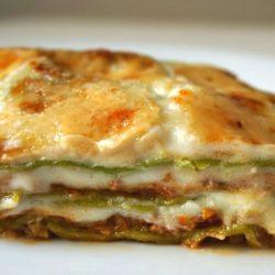 Green Lasagna with Ragù alla Bolognese