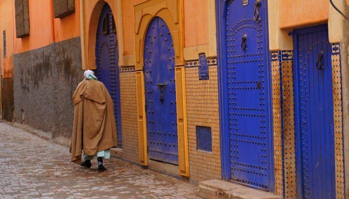 Marrakech back streets