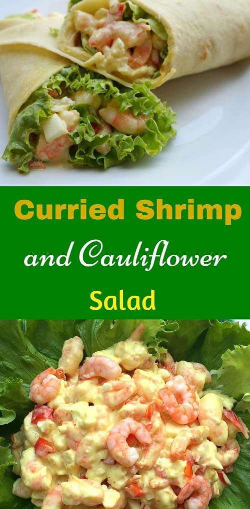 Curried Chicken and Cauliflower Salad