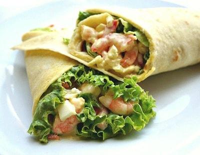 Curried Shrimp and Cauliflower Salad