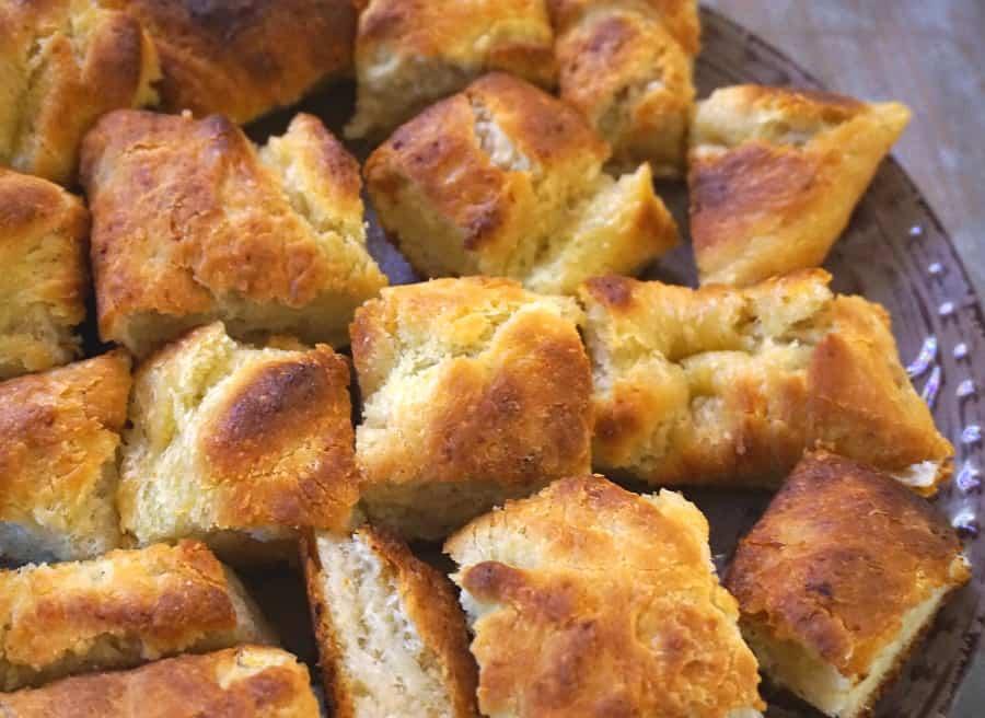 Fresh Potato Focaccia Bread