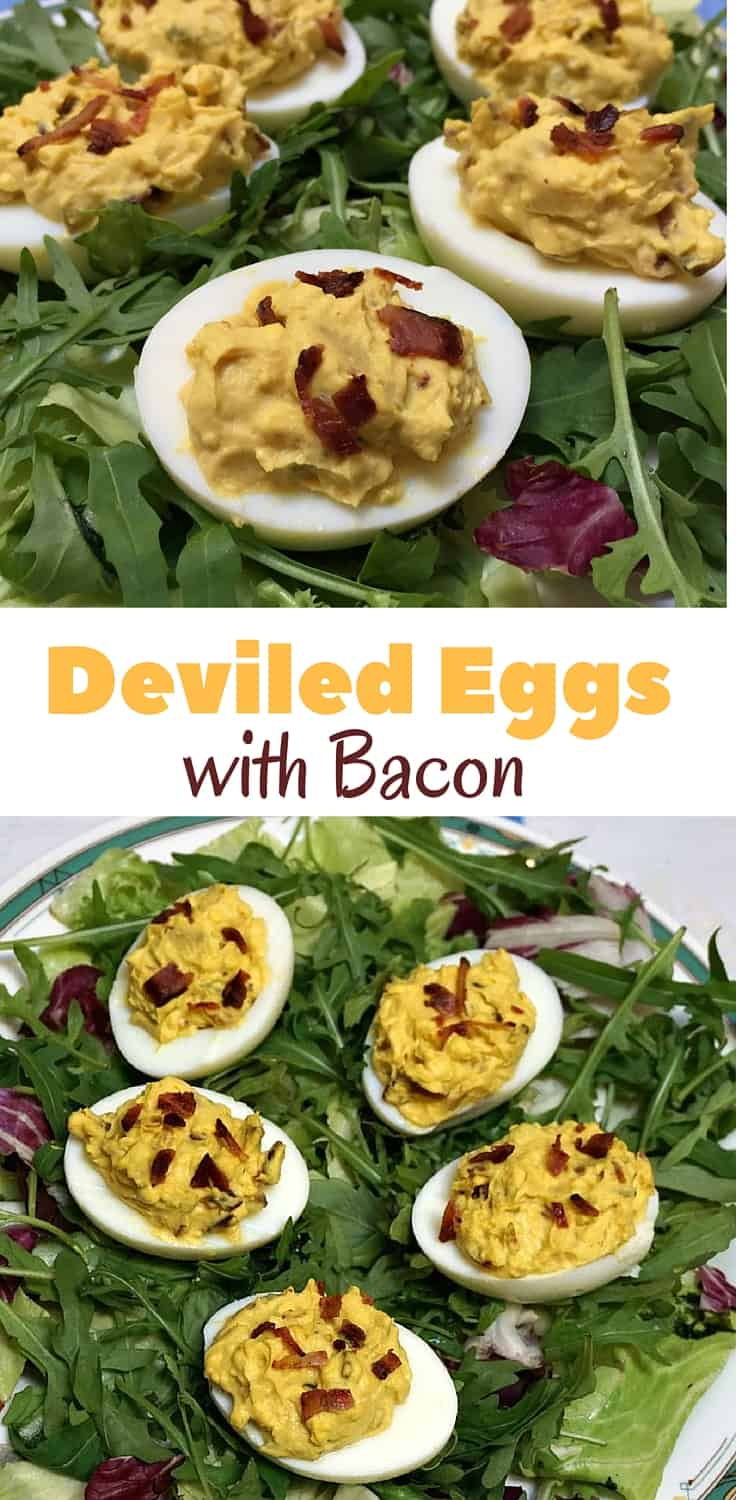 Stuffed Deviled Eggs