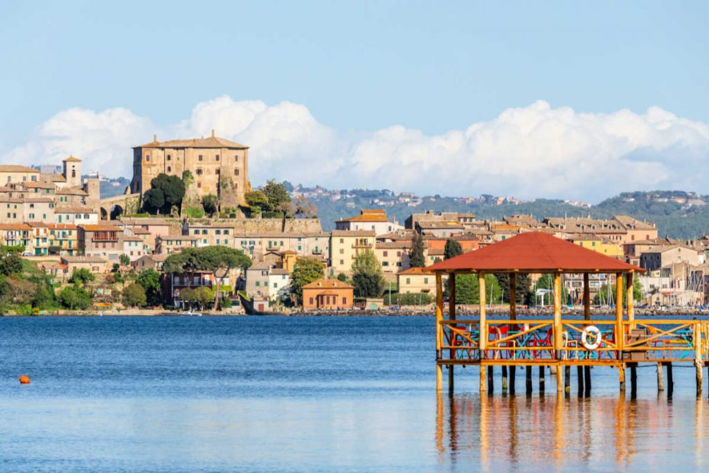 Hill Towns Italy: Capodimonte