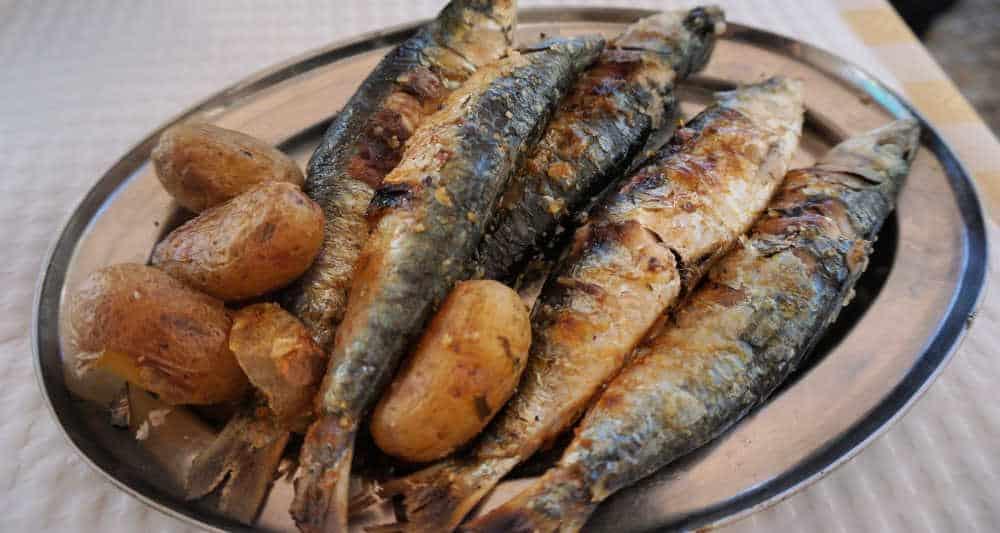 Grilled FIsh: Sardines