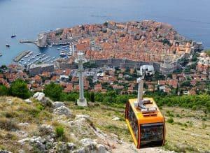 Dubrovnik Croatia Cable Car