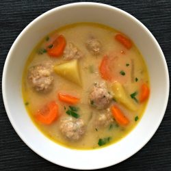 Bulgarian Meatball Soup – Supa Topcheta