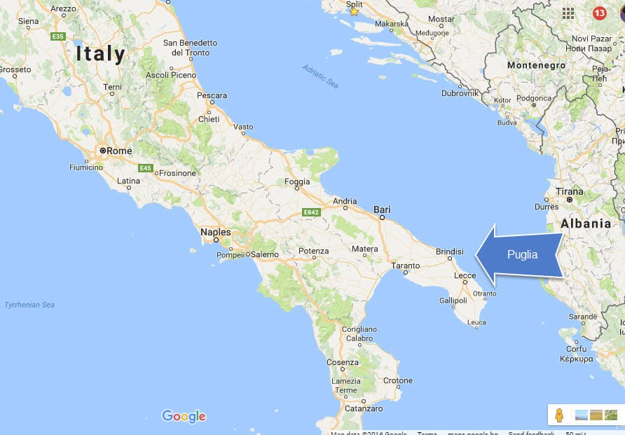 Puglia Italy Region