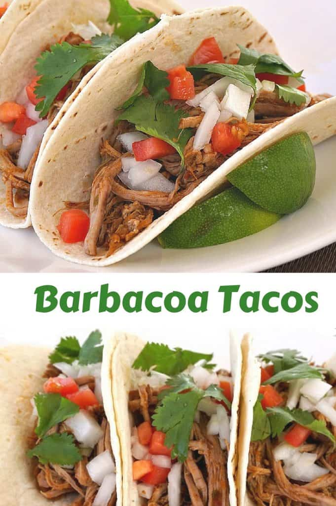 Barbacoa Tacos recipe