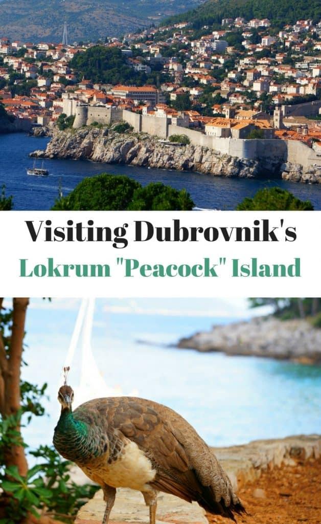 Dubrovnik Lokrum Peacock Island